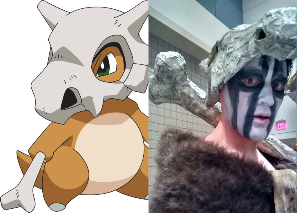 Cosplay Adventures with Cubone