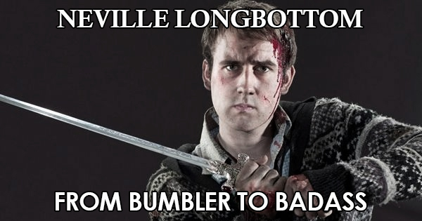 Neville Longbottom: From Bumbler to Badass