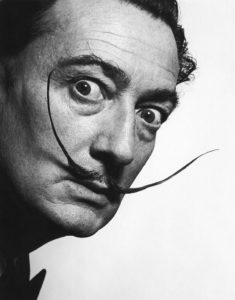 Actually, perfection did once exist: Dali's mustache.