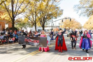 charity cosplay excelsior league superman frozen