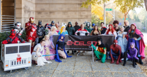 charity cosplay marvel dc comics