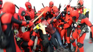 charity cosplay deadpool