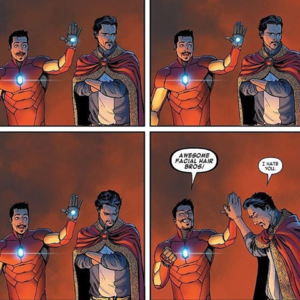doctor strange iron man marvel