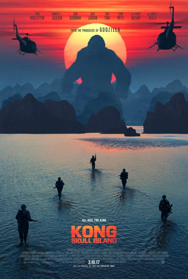 king kong skull island godzilla invisible gorilla test experiment inattentional blindness