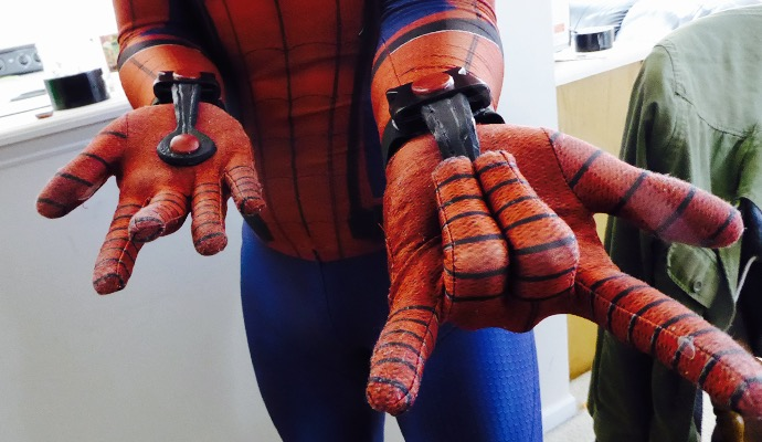Cosplay Tutorial: Simple Spider-Man Web Shooters