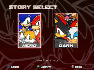 sonic adventure 2 battle force forces mania shadow the hedgehog hero's journey