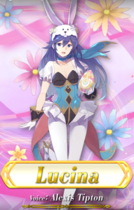 fire emblem heroes echoes shadows of valencia spring festival easter lucina