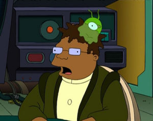 brain slug futurama take a break