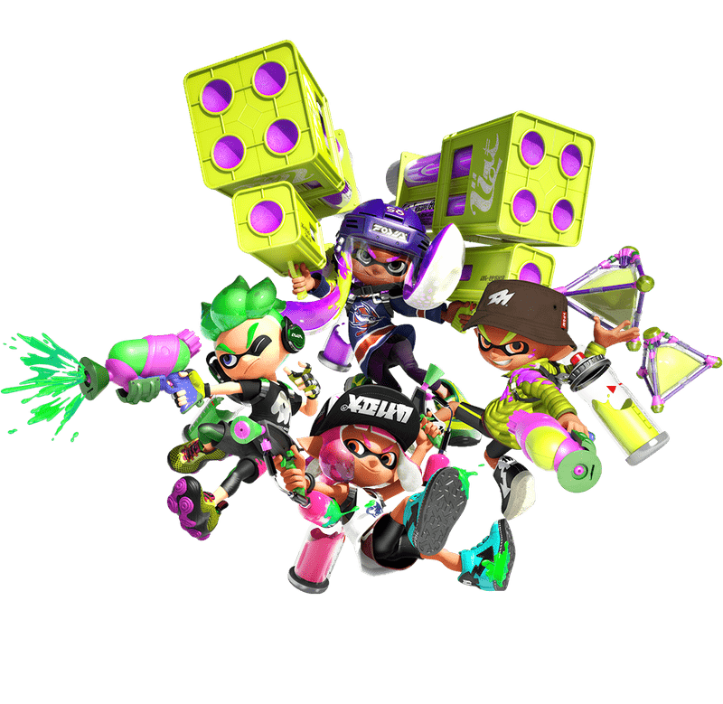 splatoon nintendo dungeons and dragons inklings switch